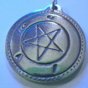 Jewelry - Double Sided Inverted Pentagram Pentacle Pendant